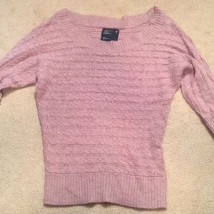 3-Quarter length sleeved American Eagle sweater